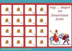 aftelkalender Sinterklaas 1