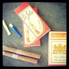 Charutos, Cigarrilhas, Palheiros e piteiras