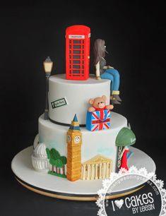 Penang Wedding Cakes by Leesin: London Cakes