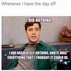 For all those people who think I should want to do activities on my day off 😄 Work Memes, Work Quotes, Work Humor, Work Puns, Work Funnies, Retail Humor, Retail Funny, Pharmacy Funny, Funny Quotes