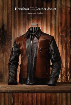 Lot.377 Horsehair LL Leather Jacket - Attractions Co.,Ltd. Owner's Blog