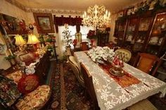 victorian dinning room