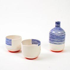 sashiko | l'atelier des garçons #bottle #cups