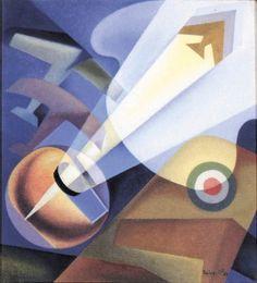 The Pilot Alilce (1932) Futurism Art