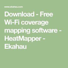 Download - Free Wi-Fi coverage mapping software - HeatMapper - Ekahau