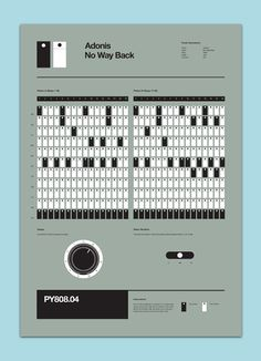 Flyer Goodness: 808 Drum Machine Posters by Rob Ricketts (UK)