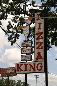 Pizza King........Longview, Texas