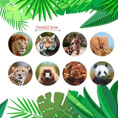 Zoo Animals round cute Stickers Roll Adhesive Label sticker scrapbooking for notebook kids rewards stationery sticker-in Stationery Stickers from Education & Office Supplies on AliExpress School Scrapbook Layouts, Scrapbook Stickers, Kids Rewards, Education Office, Zoo Animals, Cute Stickers, Adhesive, Plant Leaves, Office Supplies