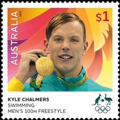 Kyle Chalmers Swimming Men's 100m
