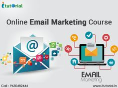 #OnlineEmailMarketingCourse develop advanced email marketing strategies and expertise in creating effective advertisements to promote products and services of business, create brand awareness, and build loyalty and trust. See more @ http://itutorial.in/email-marketing-course-in-noida.html #ITutorial #EmailMarketingCourse