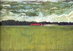 Peter Doig at Tate Britain: explore the exhibition, room 1 Peter Doig, Edward Hopper, Tate Britain, Magic Realism, Art Plastique, Contemporary Paintings, Cool Artwork, Trinidad, Les Oeuvres