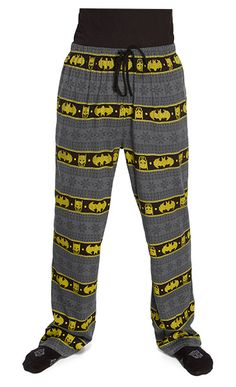 These Batman Fair Isle Unisex Lounge Pants will display your allegiance to the dark knight and keep you comfy all day long. Fair Isle refers to the name of the Batman Love, Batman And Batgirl, Batman Stuff, Batman Merchandise, Nananana Batman, Batman Outfits, Batwoman, Geek Chic, Lounge Pants