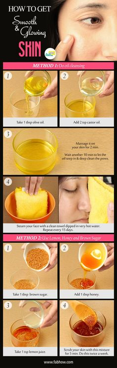 how to get smooth, clear and glowing skin in 10 minutes