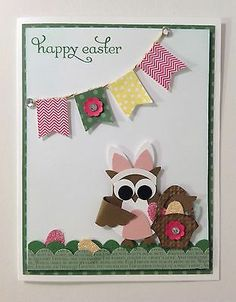 Easter - Owl in A Bunny Costume - Punch Art