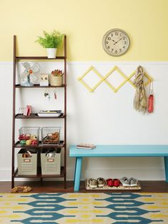 5 Ways to Use a Ladder Shelf : Page 05 : Decorating : Home & Garden Television