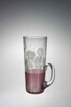 #Lemonade #Glass by Boston & Sandwich Glass Company, about 1870-1888 | Corning Museum of Glass
