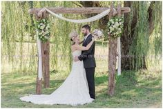 Country Chic Styled Wedding   Virginia Arboretum29
