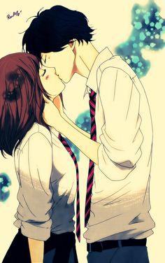 Ao Haru Ride Futaba and Kou by Rawliet on deviantART... Love this anime <3