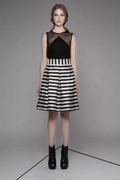 Taylor 'Incision' Collection, Summer 13/14   www.taylorboutique.co.nz Taylor - Radiant Skirt - Stripe