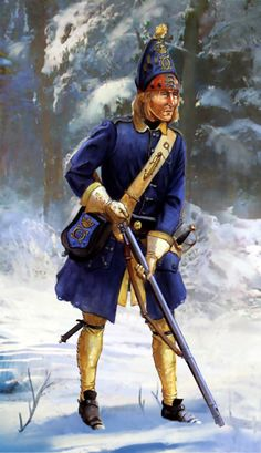 Swedish Grenadier in Russia, Great Northern War