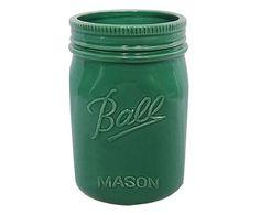 POTE BALL MASON VERDE - 18CM