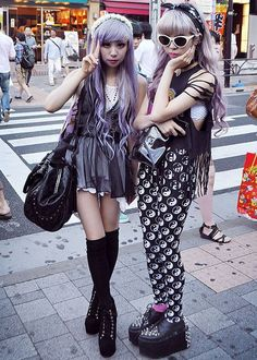 Image result for harajuku pastel goth