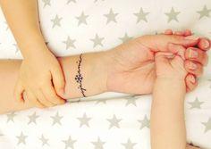 20 ideias de tatuagem bracelete para quem ama desenhos delicados – MdeMulher