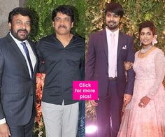 Nagarjuna SS Rajamouli Chandrababu Naidu Allu Arjun grace Srijas wedding reception!