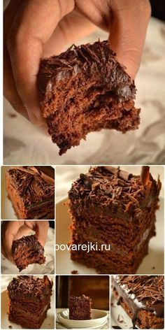 All Time Easy Cake : Super wet chocolate cake (no eggs) - king of baking, Easy Cake Recipes, Baking Recipes, Dessert Recipes, Cake Sans Oeuf, Cooking Cookies, Sweet Cakes, Savoury Cake, Clean Eating Snacks, Chocolate Cake