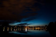 Night sky in Copenhagen -