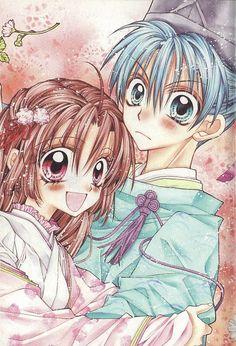 Sakura Hime Kaden - The Legend of Princess Sakura. Sakura&Aoba