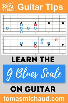Do you want to learn an acoustic Blues Scale on guitar that's fun, easy, and perfect for beginner guitar players? Good! Then you're in the right place because I'm going to show you this easy Blues scale in the key of G. There are two parts to the scale, but the 2nd part is optional. Blues guitar scales are based on the minor Pentatonic scale. The only difference between the minor Pentatonic scale and the Blues scale is one chromatic note. The 2nd part on this scale adds another octave. Play Guitar Chords, Learn Acoustic Guitar, Guitar Scales, Learn To Play Guitar, How Its Going, Going To Work, Pentatonic Scale, Guitar Reviews, Guitar Online