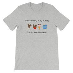 Craving Disney Snacks? And a simpler time when you're biggest tasks were humming and finding something sweet? This shirt is for Winnie the Pooh fans everywhere. Ah, the joys of childhood. Thankfully if you're a Disney Fan you know the importance of bringing more and more Disney magic into your everyday. If you're looki