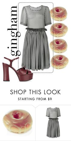 """Untitled #99"" by lou-dare ❤ liked on Polyvore featuring Molly Goddard and Yves Saint Laurent"