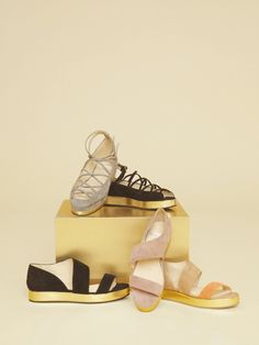 Adorable COMFY shoes for summer from Stine Goya's S/S 2012 collection.