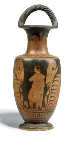 A CAMPANIAN RED-FIGURE BAIL AMPHORA, ATTRIBUTED TO THE PARRISH PAINTER 4TH CENTURY B.C. | Christie's
