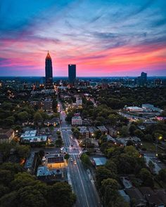 Sunset over the ATL~