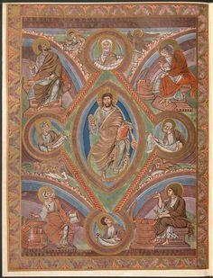 Evangeliar (Codex Aureus) - BSB Clm 14000. - [S.l.] Westfrankenreich, 879 [2011-01-10] URN: urn:nbn:de:bvb:12-bsb00057171-1