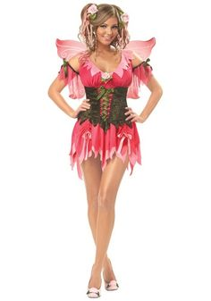 Adult Rose Fairy Costume