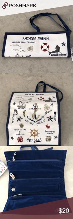 Brighton The Seaside Chic Jewelry Roll NWT Brighton The Seaside Chic Jewelry Roll NWT Brighton Bags Travel Bags