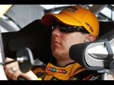 DAYTONA BEACH, FL - FEBRUARY 18:  Kyle Busch, driver of the #18 M's Brown Toyota, sits in his car in the car during practice for the NASCAR Sprint Cup Series Daytona 500 at Daytona International Speedway on February 18, 2012 in Daytona Beach, Florida.