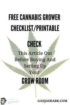 Are you considering about setting up your Indoor gardening set up? If so, check out this article for a cannabis grow room checklist and also other excellent cannabis grow ideas. Indoor Grow Lights, Best Led Grow Lights, Cannabis Growing, Cannabis Plant, Indoor Hydroponic Gardening, Growing Weed Indoors, Grow Room, Grow Kit, Hydroponics System
