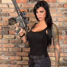 That belt tho. fragged cerakote D-EVO with LCO optics S Drum Magazine and Viper Rail handguard flat trigger ambi-safety Photo Cred: Joint collaboration between and during with and Alex Zedra, Cyberpunk Girl, Swimwear Model, Back In The Game, Military Girl, Military Women, One Piece Bikini, Girl Tattoos, Female Models