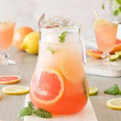 Granizado de naranja, lima y limón