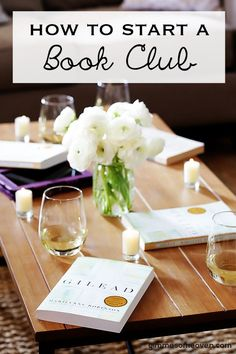 Book Club 3How To Start A Book Club -- 5 tips for creating a book club that's awesome (and that will last).   gimmesomeoven.com/life
