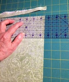 Two Tricks for Perfect Log Cabin Blocks – modafabrics