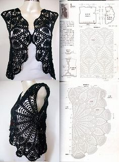 Exceptional Stitches Make a Crochet Hat Ideas. Extraordinary Stitches Make a Crochet Hat Ideas. Pull Crochet, Gilet Crochet, Mode Crochet, Crochet Jacket, Crochet Cardigan, Crochet Shawl, Crochet Collar, Crochet Top, Crochet Sweaters