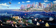 San Francisco Harbor View ~ Alexander Chen