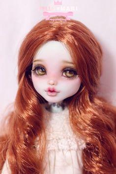 #OOAK #MonsterHigh #DollRepaint #HelloMariRepaint  간만에 몬하돌 라구나를 리페했숴여! 라구나의 피부색과 넘나 잘어울리는 민트머리로 식모했다요 ㅎㅎ 민트...