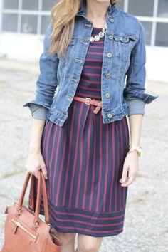 { Stripes and denim }
